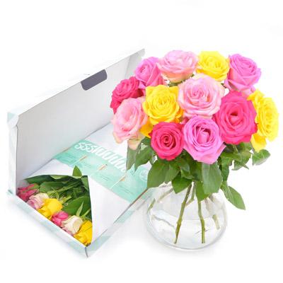 Brievenbusbloemen - Bos Summermix rozen