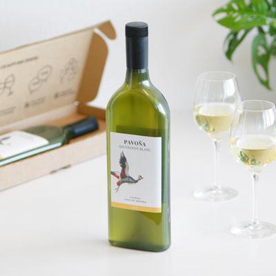 Brievenbuscadeau - Witte wijn per post