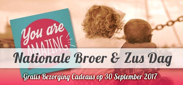 Nationale Broer- en Zusdag - 30 september 2017