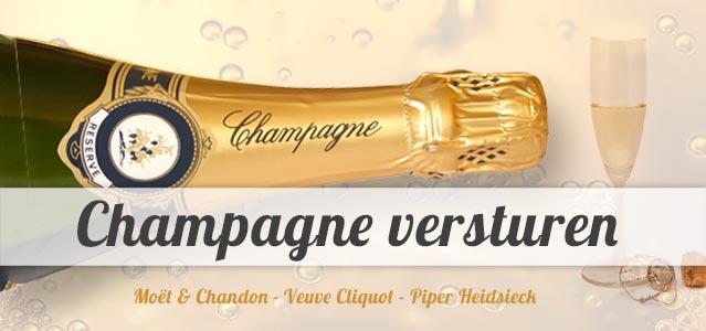 Champagne per post