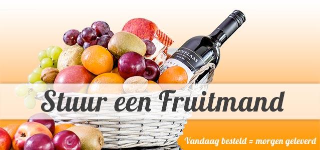 Fruitmand bezorgen - vandaag besteld, morgen in huis!