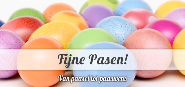 van paasei tot paaswens - Fijne Pasen!
