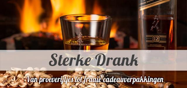 Sterke Drank - van proeverijtjes tot fraaie cadeauverpakkingen
