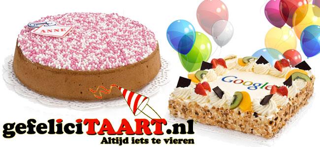 Altijd iets te vieren met de taarten van gefeliciTAART!