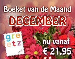 Boeket van de Maand December - Jingle bells vanaf € 21,95