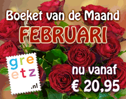 Boeket van de Maand Februari - 'Klassiek' vanaf € 20,95