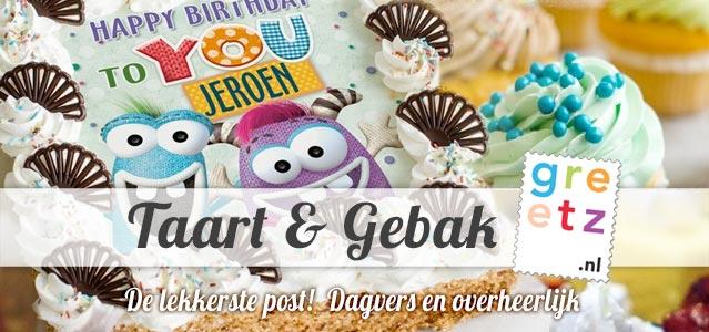 Greetz Taart & Gebak - De lekkerste post!