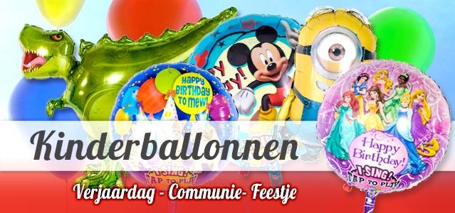 Speciale Kinderballonnen met geluid