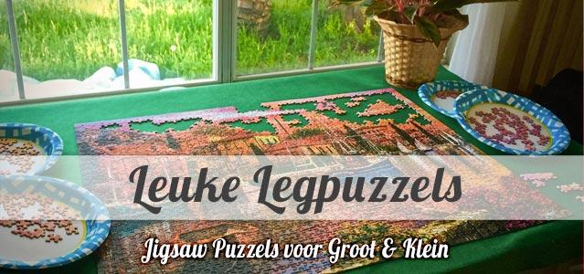 Leuke Legpuzzels - Puzzelen voor Groot & Klein